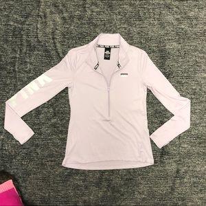 Victoria Secret Pink Ultimate Half Zip Jacket